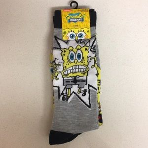 Spongebob Squarepants 2 Pair of Socks